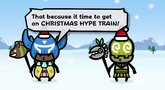 Monster Hunter 3 Ultimate Chacha Kayamba Christmas trailer