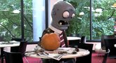 Plants vs. Zombies 'Halloween temp worker pumpkin carver' Trailer