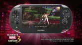 Ultimate Marvel vs. Capcom 3 Vita gameplay trailer