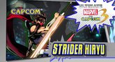 Ultimate Marvel vs. Capcom 3 'Strider character vignette' Trailer