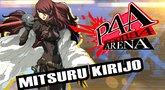 Persona 4 Arena Mitsuru moves trailer