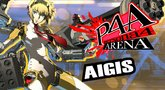 Persona 4 Arena Aigis moves trailer