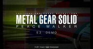 Metal Gear Solid: Peace Walker HD demo video released