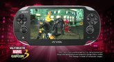 Ultimate Marvel vs. Capcom 3 Vita gameplay 3 trailer
